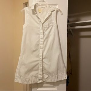 Maeve tunic button down shirt